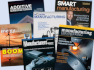 articles in industry magazine covers