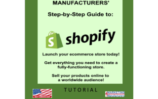 Marketing 4 Manufacturers' Step-by-Step Guide to Shopify