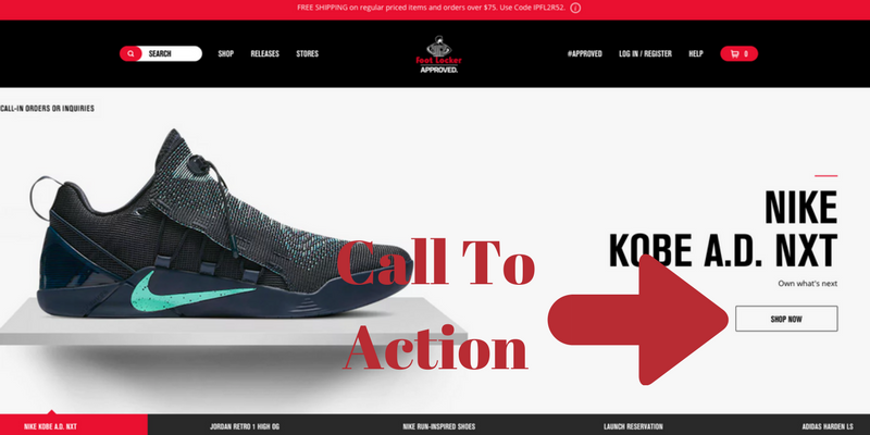 Footlocker Screenshot