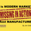 Why is Modern Marketing M.I.A. at Most Small Manufacturers?