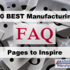20 Best Manufacturing FAQs Pages to Inspire