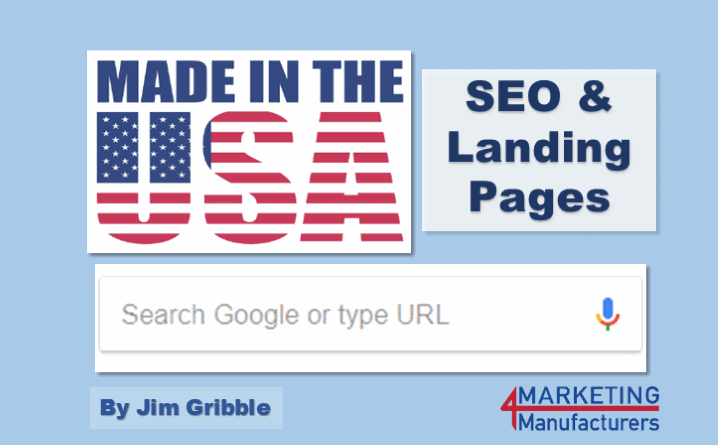 made in the usa landing pages