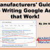 Manufacturers' Guide to Writing Google Ads that Work!
